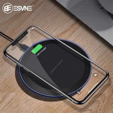 esvne  qi wireless charger  iphone  xs max xr
