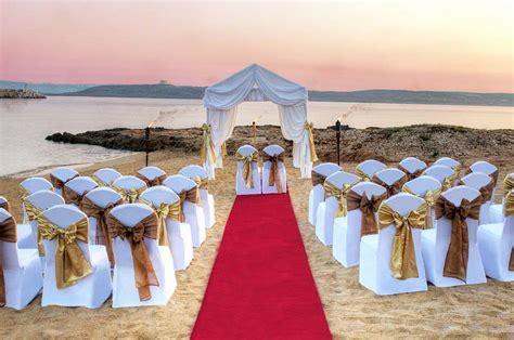 Maltinero Beach   Malta Wedding Venues