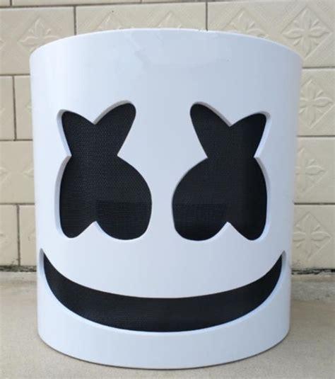 marshmello helmet marshmello mask cosplay costume accessory helmet for