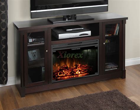 tv cabinet with fireplace muskoka coventry tv stand fireplace in espresso xiorex