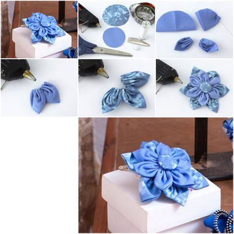 Handmade Step By Step - how to make beautiful cloth flower step by step diy