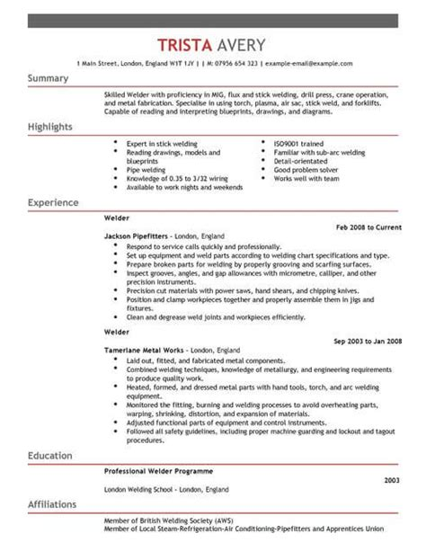 Cv Uk by The Best Cv And Cover Letter Templates In The Uk Livecareer