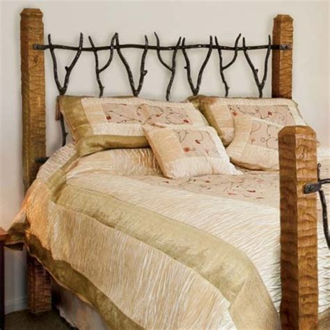 rustic metal headboards pictured here is the south fork wrought iron headboard