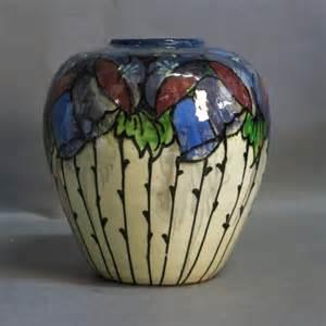 jugendstil vasen jugendstil vase mit schlickermalerei huber roethe