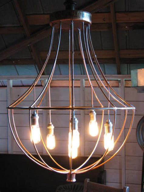 Edison Bulb Chandelier Industrial Chandelier With Edison Bulbs