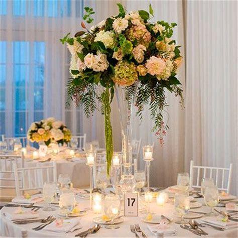 floreros de mesa para boda decoraci 243 n de flores para centros de mesa altos
