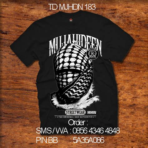 Kaos Anak Sorban Putih At 58 Xl Ammar Kid S kaos mujahidin mujahidin distro 0856 4346 4848