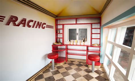 rascal revlots garage luxury childrens playhouse