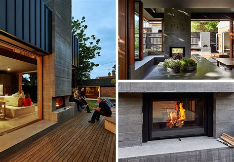 13 exles of how to include a sided fireplace