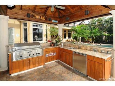 tiki bar outdoor kitchen  mediterra naples fl