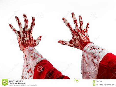 imagenes navidad sangrienta tema de la navidad y de halloween mano sangrienta de