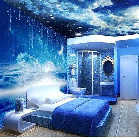 galaxy wallpaper for bedroom walls galaxy wallpaper bedroom walls themed throughout idea