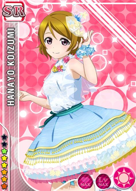 live school idol festival card template file hanayo smile sr449 t jpg live school idol