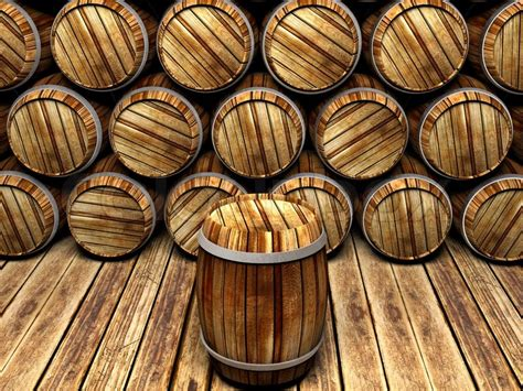 Log Home Floor Plans With Prices Wall Of Wooden Barrels Stock Photo Colourbox
