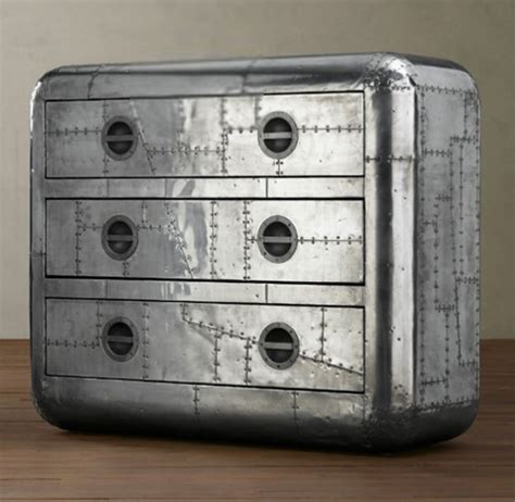 Aviator Chest Of Drawers by Exceptional Aviation Inspired Chest The Blackhawk Chest