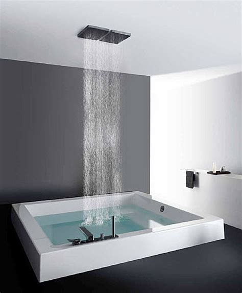 rain shower bathtub built in square bath tub grande quadra step kos