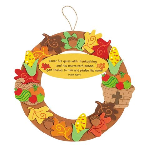thanksgiving craft kits for inspirational thanksgiving wreath craft kit