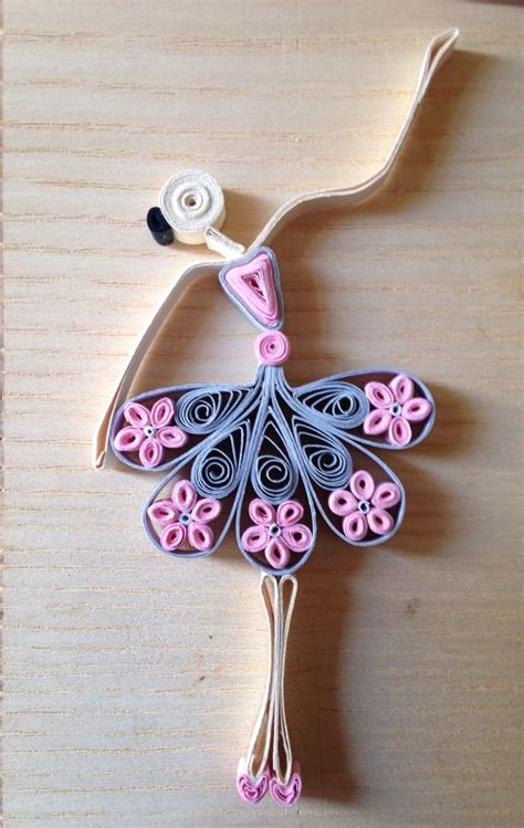quilling girl tutorial ballerina quilling i miei lavori quilling e co