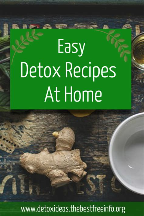 detox cleanse at home all detox