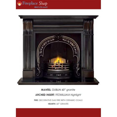 fireplace code dublin package 47