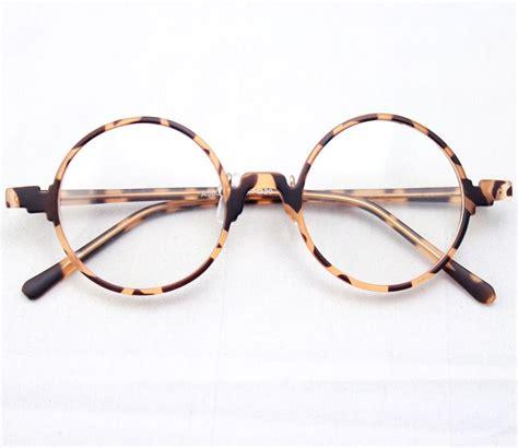 vintage retro leopard tortoise shell eyeglass