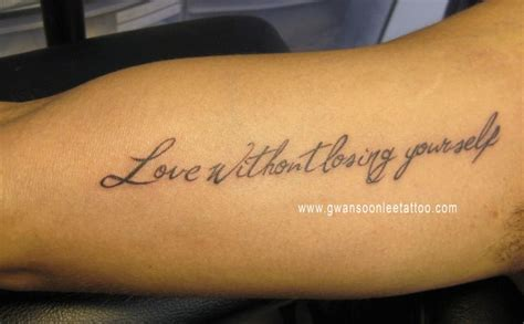 tattoo quotes bicep men bicep love quote tattoo golfian com
