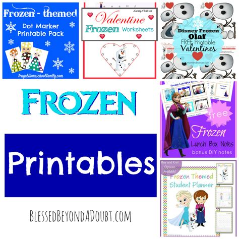 printable frozen quiz the ultimate frozen roundup with 100 resources