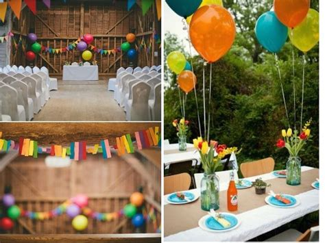 Rainbow Hanging Decoration 33 best ideas for rainbow wedding decorations everafterguide