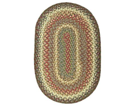 braided oval rugs homespice decor cotton braided oval beige area rug bosky ova
