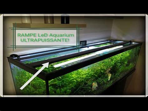 Eclairage Led Pour Aquarium Planté by Fabriquer Une Re Led Ultra Puissante Pour Aquarium