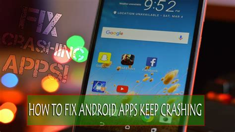 android apps crashing 9 methods to solve apps keep crashing issue on android