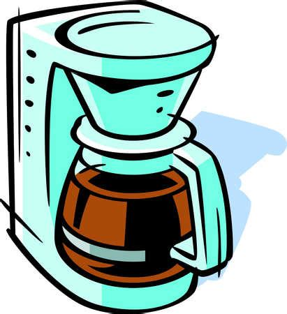 drawing maker stock illustration drawing of a coffee maker