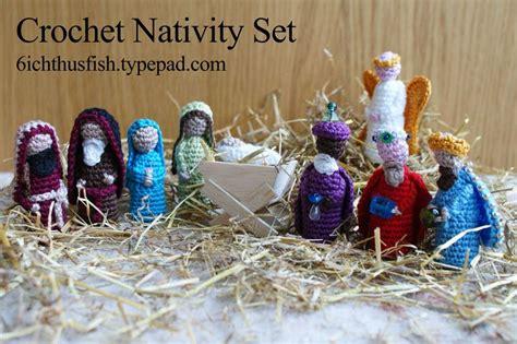 crochet pattern nativity scene christmas in july knit and crochet nativity sets free
