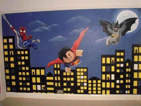 lego superhero bedroom lego superhero dc marvel spiderman batman superman
