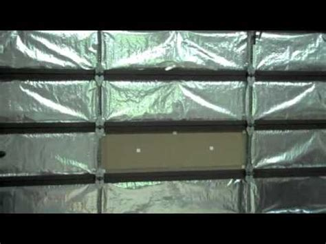 Garage Door Radiant Barrier How To Insulate Your Garage Door With A Reach Radiant Heat