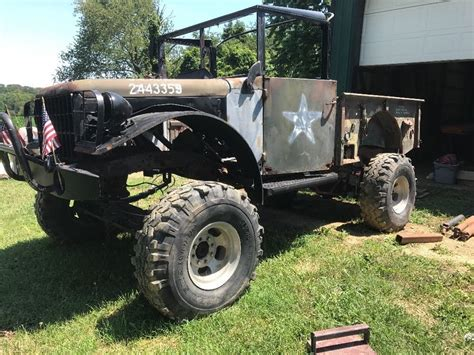 solid truck  dodge power wagon project  sale
