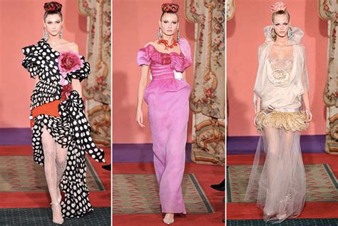 Fashion Styles Of The Rich And Couture In The City Fashion by Christian Lacroix Rejects Money Offered By A Couture