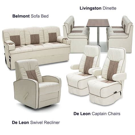 rv folding furniture consulate rv furniture package rv seating shop4seats