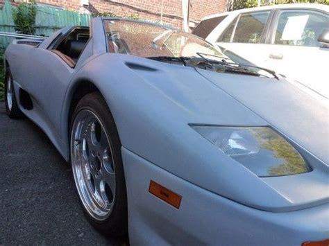 1986 Lamborghini Diablo Purchase New 1986 Pontiac Fiero Replica Lamborghini Diablo