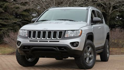 jeep compass lifted 2011 mopar jeep compass canyon youtube