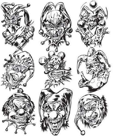 juggalo tattoo designs tattoos seen juggalo designs