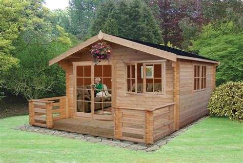 Pine Log Cabin by Pine Log Cabins Suppliers To Cambs Suffolk Lincs