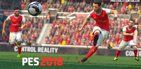 arsenal pes 2018 pes 2018 konami y arsenal anuncian acuerdo gamecored