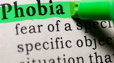 10 And Their Phobias by The Top 10 Most Common Phobias Suffer From