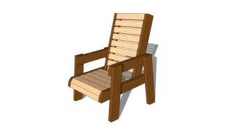 chair plans