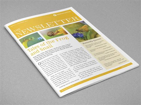 Indesign Newsletter Templates Graphicdiffer Indesign Letter Template