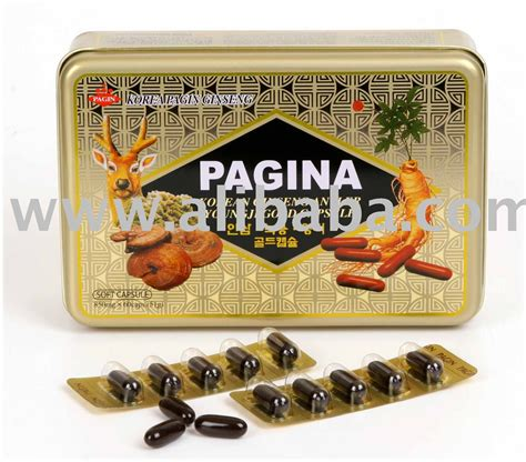 Korean Ginseng Extract Capsule Gold korean ginseng antler youngji gold capsule buy ginseng capsule product on alibaba