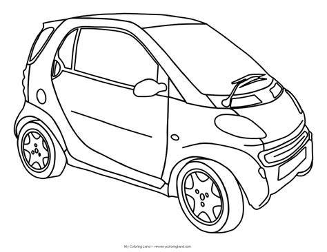 Cars My Coloring Land Car Coloring Pages To Print