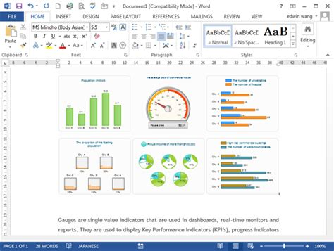 Excel Gauges Template Images Excel Chart Templates
