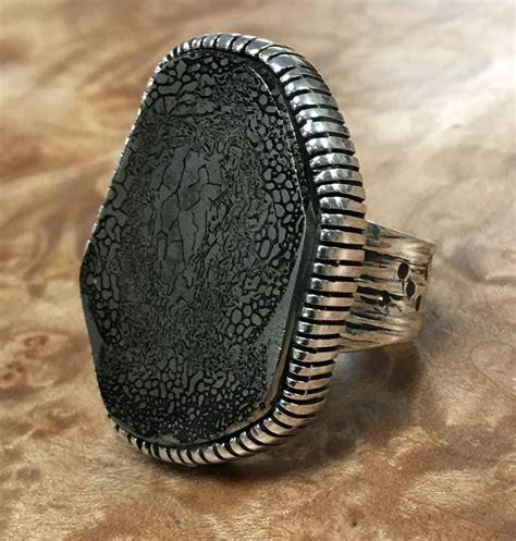 best 25 dinosaur bone ring ideas on meteorite